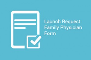 Launch Request a Family Physician Form